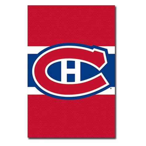Ottawa Home Decor by Montreal Canadiens Logo 12 Wall Poster