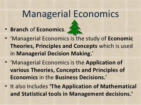 Managerial Economics Notes For Mba Students by Introduction To Managerial Economics Yuvaraja Se
