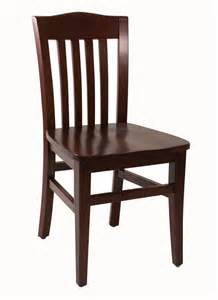 Wooden Chair Slat Back Wood Chair