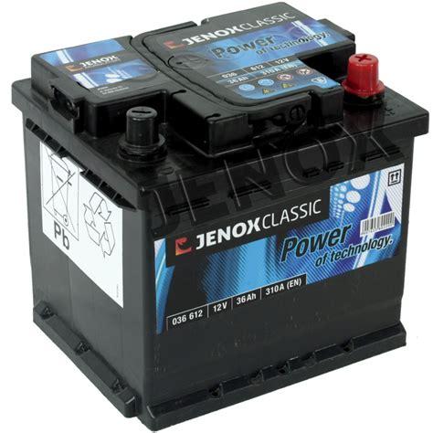 Motorrad Batterie 12v 36ah by Jenox Classic12v 36ah 310 A En Starterbatterie