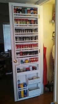 my new pantry door spice rack for the house