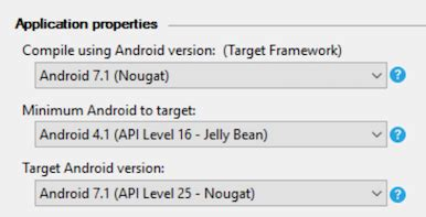 xamarin android create android app one activity to round launcher icons in android 7 1 xamarin blog