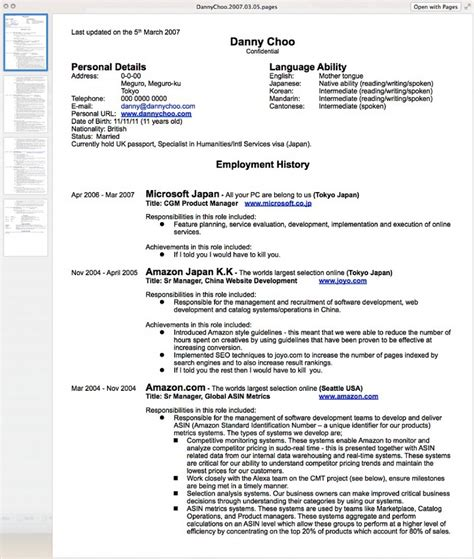 how to put your resume in word format how to write a resume resume cv exle template