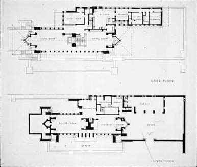 Robie House Floor Plan by Robie House Plans Find House Plans