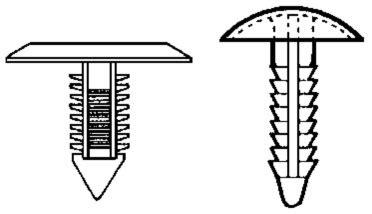 xmas tree clips apex fasteners