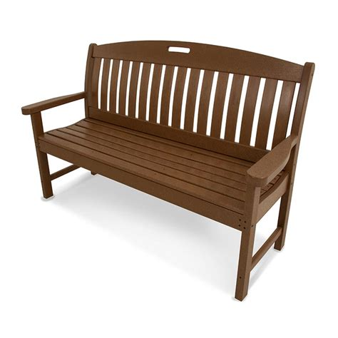 resin patio bench outdoor plastic garden bench polywood maintenance free