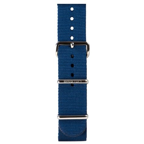 Stap Blue nato navy blue briston watches