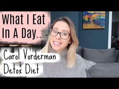 Carol Vorderman Detox Diet by What I Eat In A Day Carol Vorderman Detox Diet Food