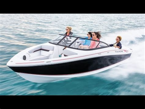 runabout the boat tahoe boats 2018 700 runabout boat youtube
