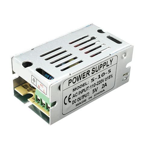 Power Suplay 5v 2a ac 110220v to dc 5v 2a 10w driver switch power supply transformer for led light