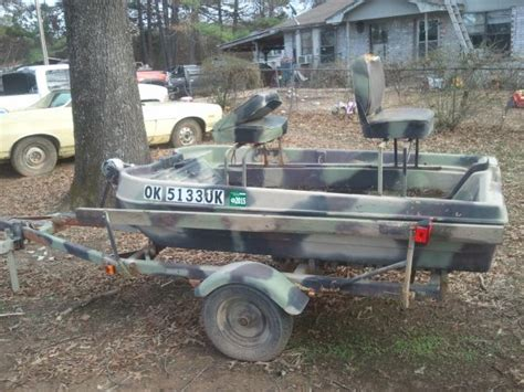 tracker boats kc bass tracker 2 man boat for sale
