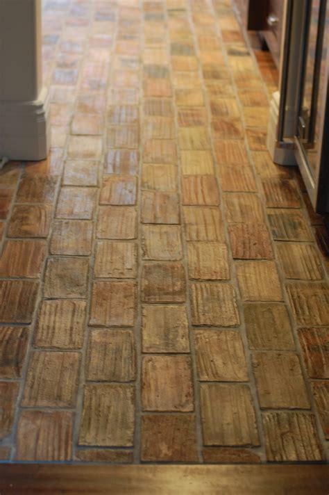 spanish floor spanish revival kitchen floor reclaimed terracotta