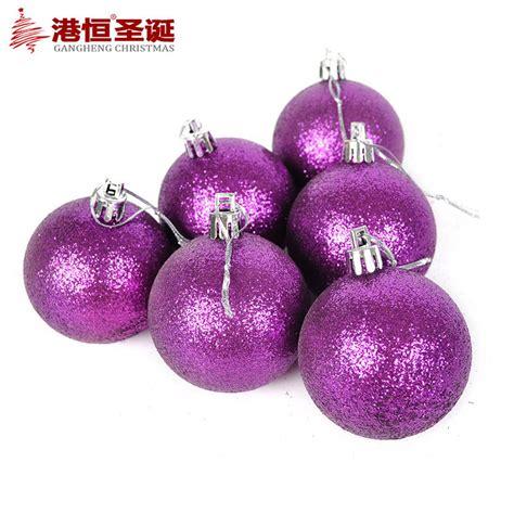 purple ornament 2015 new sale tree ornaments 6cm sticky
