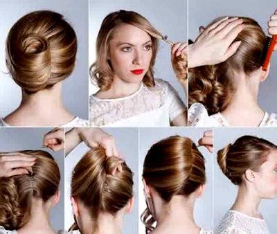 tutorial rambut kepang konde tutorial rambut pramugari untuk til cantik di acara wisuda