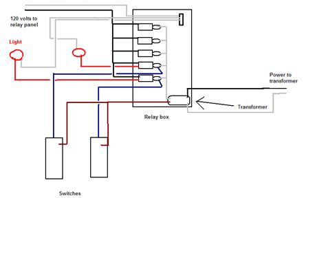 voltage wiring ge low voltage switch relay wiring guide