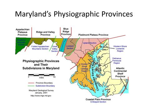 maryland bedrock map introduction to history ppt