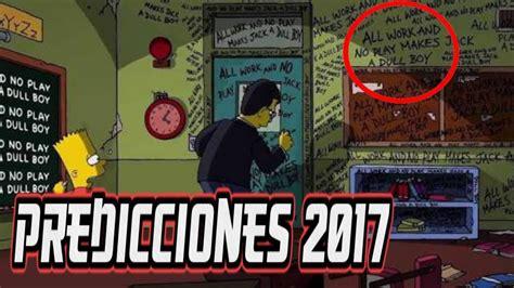 predicciones de horangel 2016 geminis las nuevas predicciones de los simpsons 2017 2016