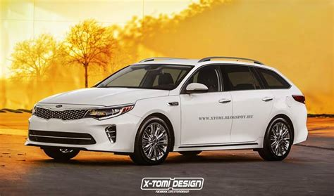 Kia Wagon Kia Optima Wagon Rendered In Production Form