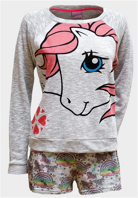 Piyama My Pony By Chibiland pajamas my pony pyjamas pyjama shorts grey