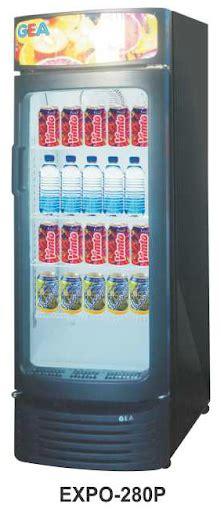 Es Krim 8 Liter Khusus Gosend jual mesin pendingin minuman 1 pintu display cooler kapasitas 280 liter expo 280 mesin