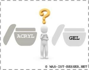 Gel Of Acryl by Acryl Oder Gel Was Ist Besser