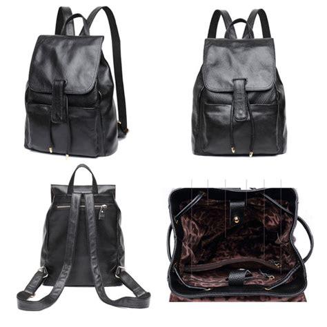 mochilas de cuero negro mochilas piel mujer comprar bolsos de piel billeteras y
