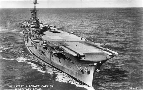 ark boat carrier hms ark royal aircraft carrier ships u boats