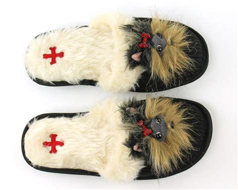 yorkie slippers terrier animal slippers animal slippers