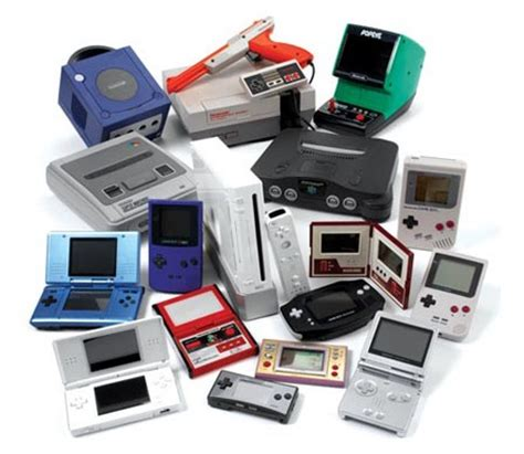 All nintendo game consoles related images