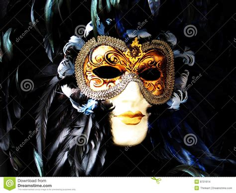 Pibamy Gold Mask Pibamy Time Gold Mask venetian carnival mask gold and black stock images image 8701614