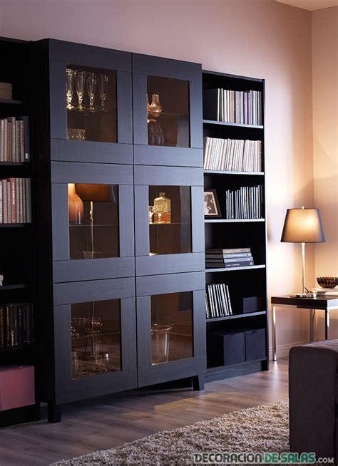 salones con muebles de ikea muebles pr 225 cticos para tu sal 243 n