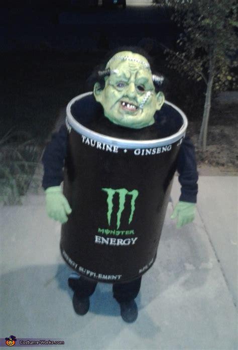 diy monster energy costume
