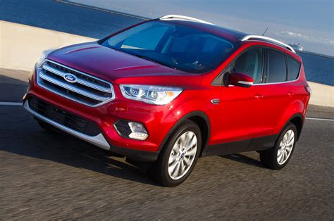 Ford Escape 2017 Ford Escape Drive Review Motor Trend