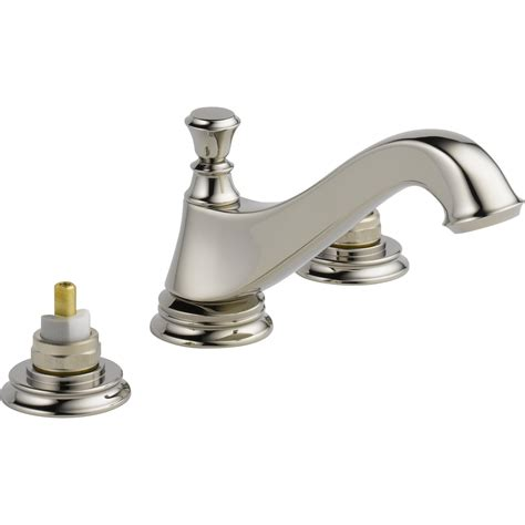 double faucet bathroom delta cassidy double handle widespread bathroom faucet