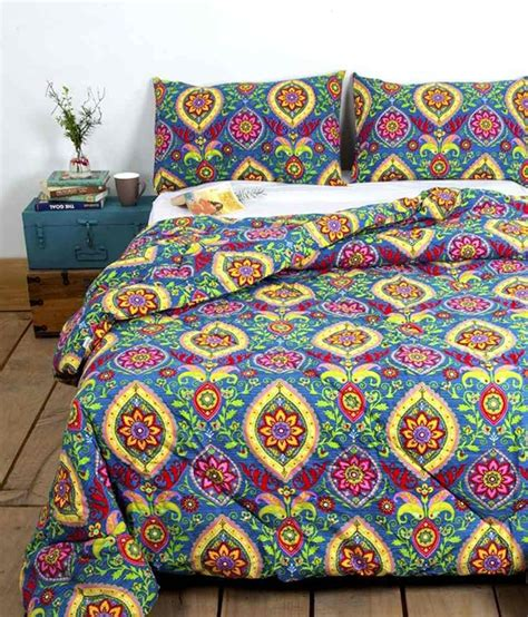yellow floral comforter ocean collections yellow blue floral cotton comforter