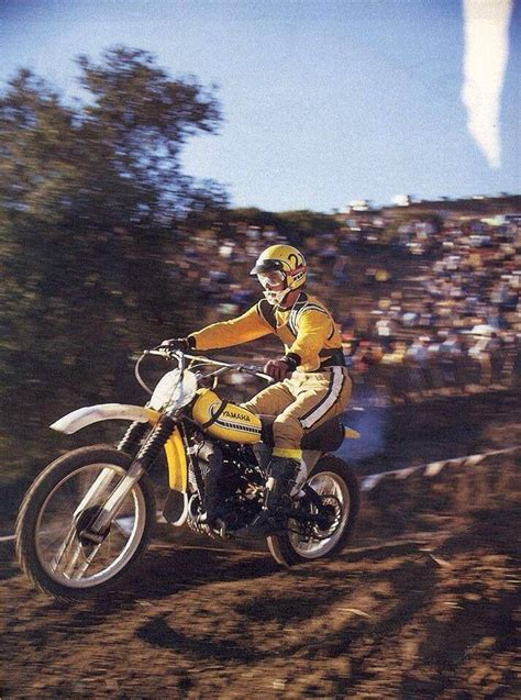 vintage yamaha motocross bikes vintage mx bikes riders pinterest