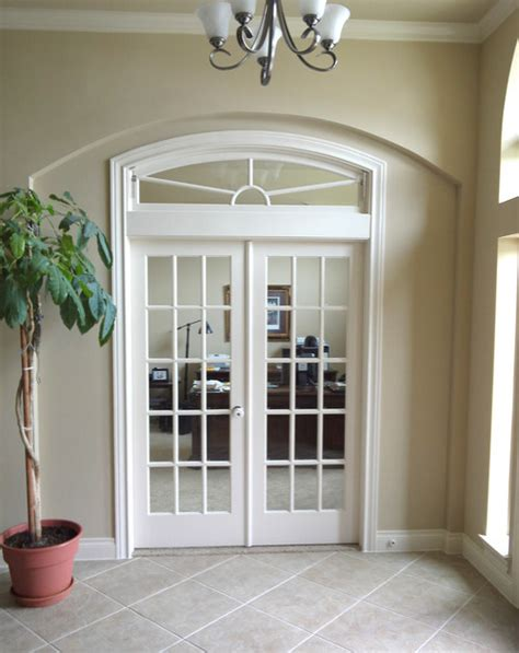 interior doors with arched transom interior openings