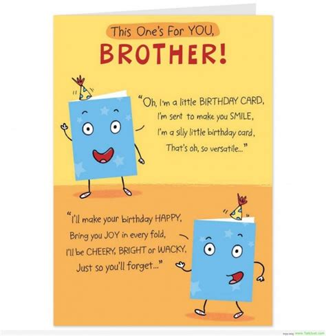 Quotes For Brothers Birthday 1000 Brother Birthday Quotes On Pinterest Birthday