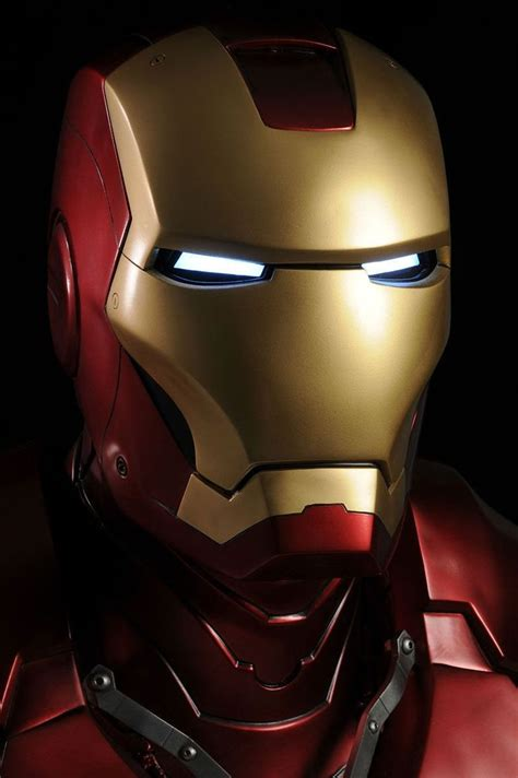 iron man wearable luminous open face fiberglass helmet