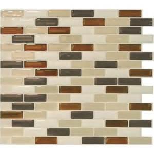 Peel And Stick Backsplash Walmart Smart Tiles Original Peel Amp Stick Backsplash Wall Tile