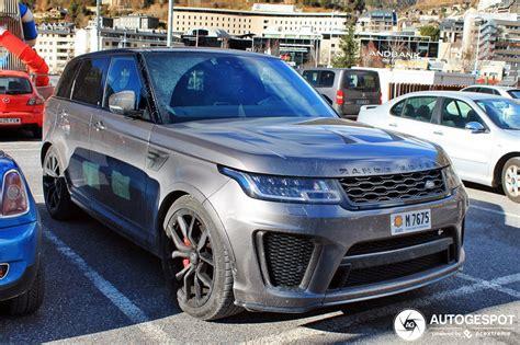 2019 Land Rover Svr by Land Rover Range Rover Sport Svr 2018 13 January 2019