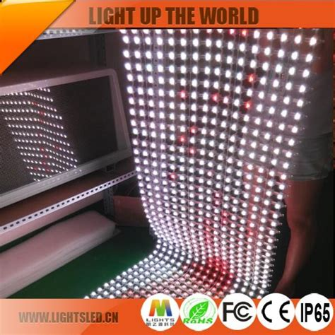 flexible led curtain price p120 flexible led curtain video display panel for sale on