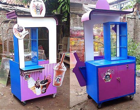 desain gerobak ice cream gambar gerobak ice cream rp 3 800 000 jasa pembuatan
