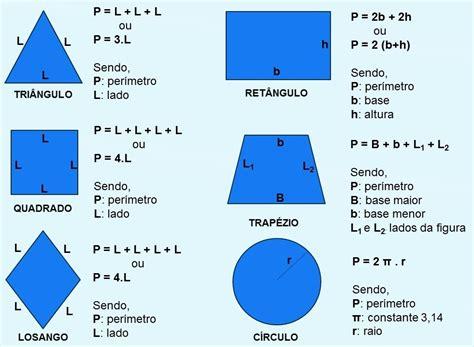 figuras geometricas formulas de area y perimetro areas y perimetros de figuras geometricas per 237 metros