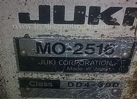 Stitch Mo juki mo 2516n serger for sale five thread safety stitch