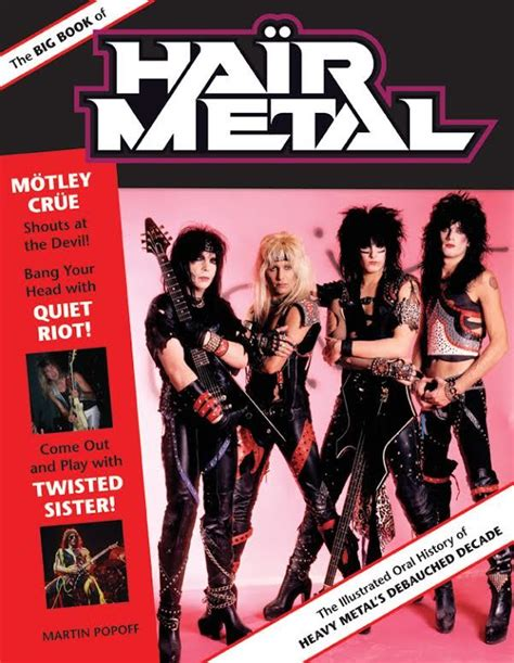 libro the history book big hair metal ad agosto il libro the big book of hair metal