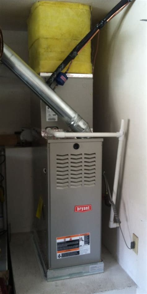 House Furnace In Garage by 3 Ton Furnace And Evaporator Coil Installation Garage