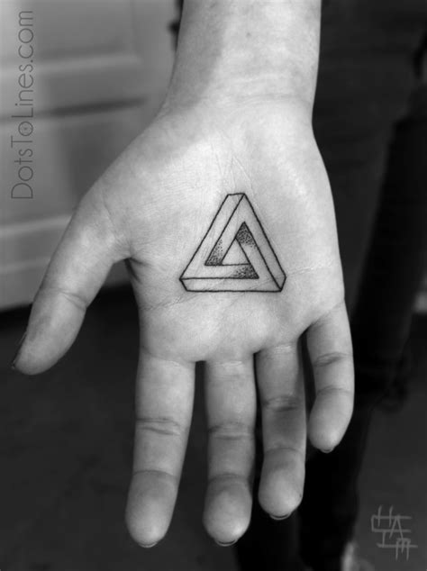 tattoo infinity triangle geometric tattoos geometry for graphic designers
