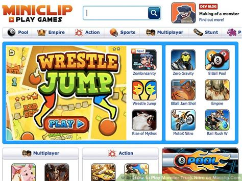 How To Play Truck Nitro On Miniclip Com 6 Steps