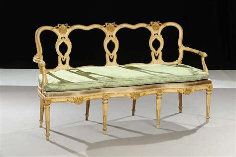 divano luigi xvi divano luigi xvi in legno laccato xviii secolo